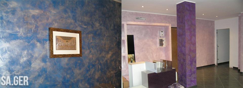 Cool decoratore di torino lavori di decorazione alloggi come stucco antico velature terre - Decoratore d interni ...